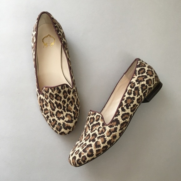 ce5dbf64f708 C. Wonder Shoes | C Wonder Cheetah Fabric Loafer Flats Animal Print ...
